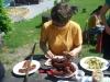 2011 máj - Pavlovce - opekačka s rodičmi